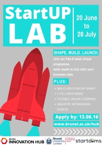 StartUP Lab Poster